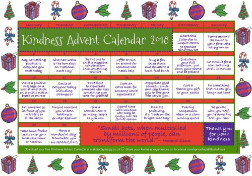 Kindness-Advent-Calender-2018